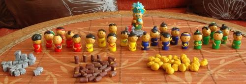 Figuren für Tzolkin