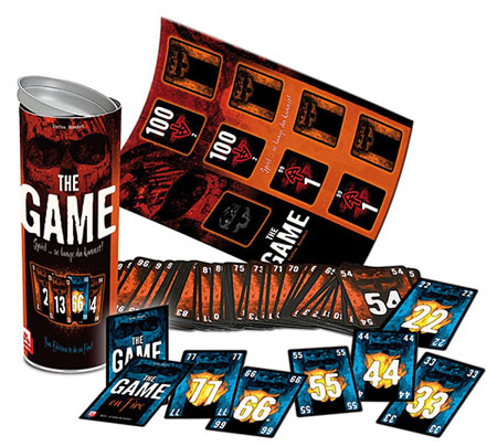 the game on fire mat