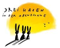 Drei Hasen Logo