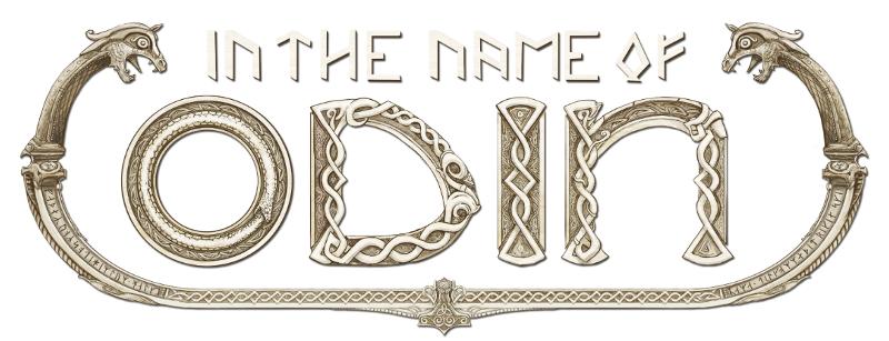 in the name of odin logo