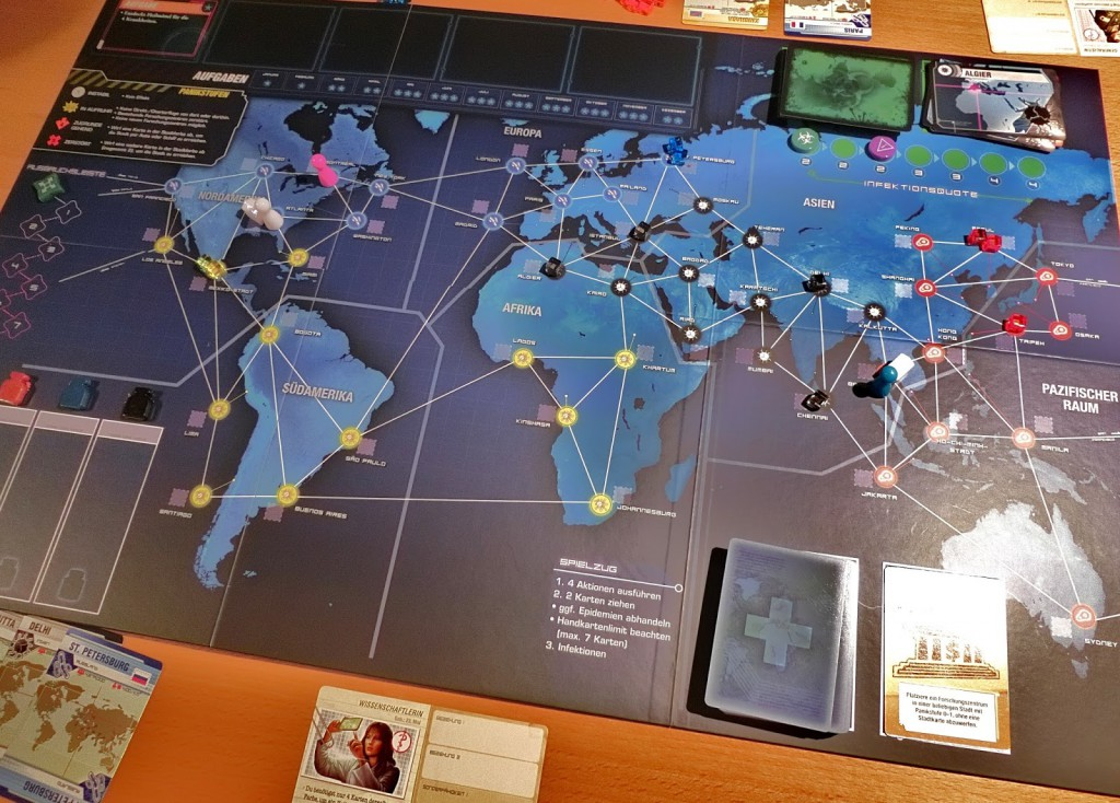 Pandemie Legacy mat 1