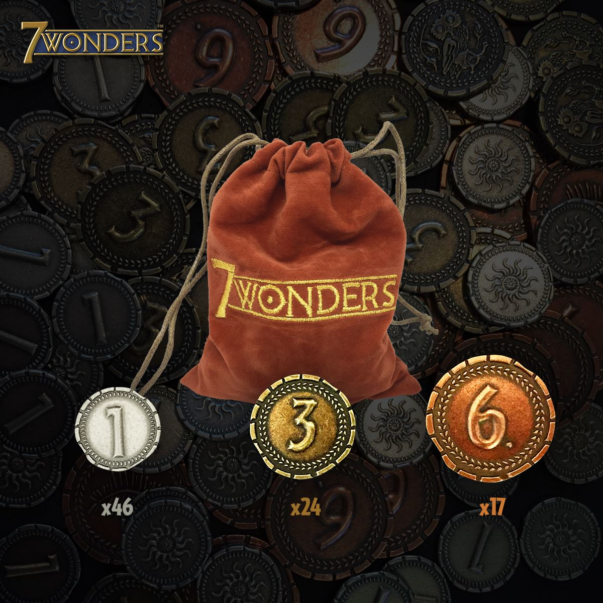 7 wonders beutel