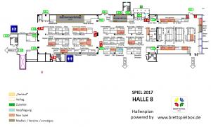 SPIEL 2017 - Halle 8