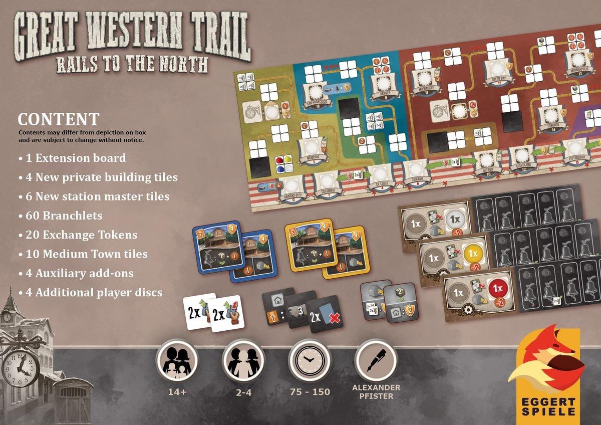 great western trail erweiterung mat