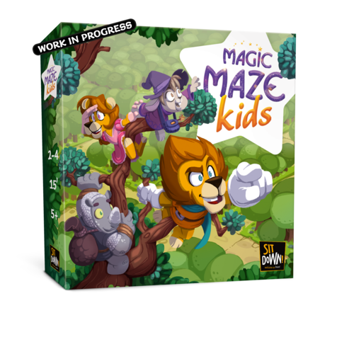 magic maze kids box